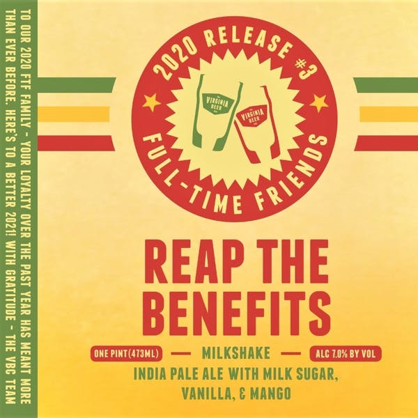 Image or graphic for Reap The Benefits