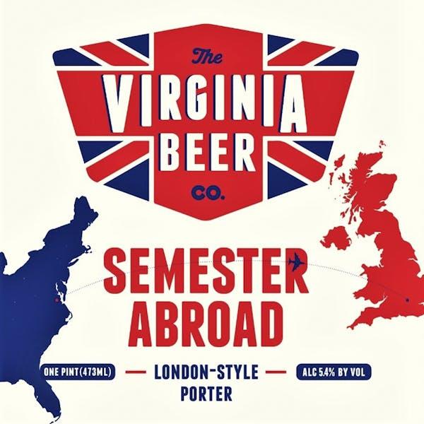 Semester Abroad beer artwork