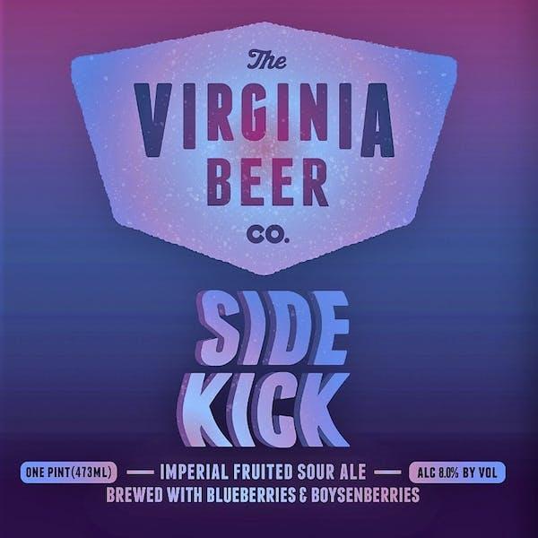 Sidekick Imperial Sour beer artwork