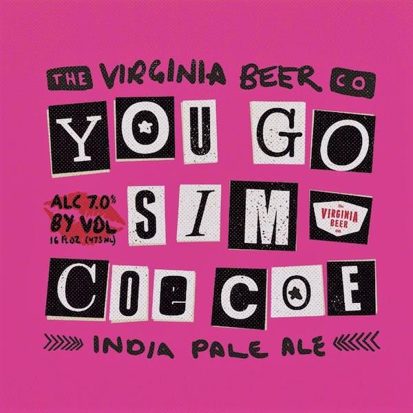 You Go Sim CoeCoe beer artwork