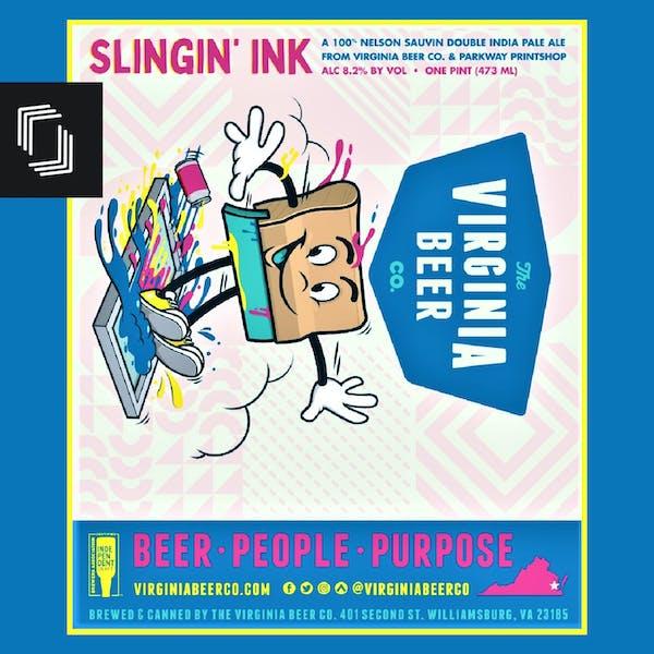 Slingin' Ink Label