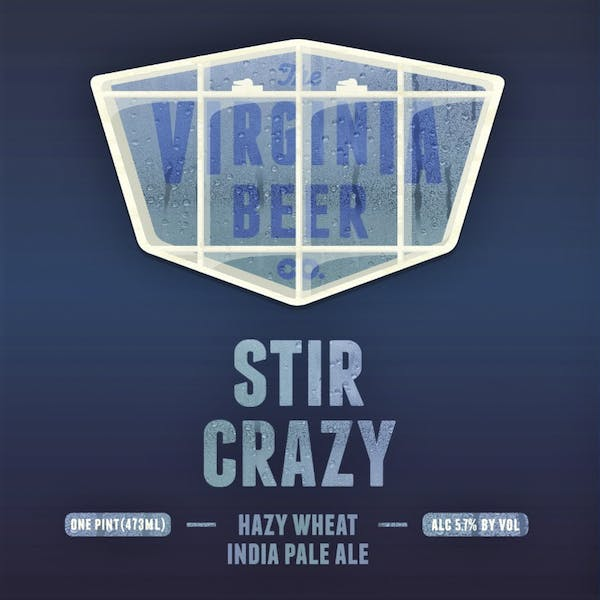 Image or graphic for Stir Crazy Hazy Wheat IPA