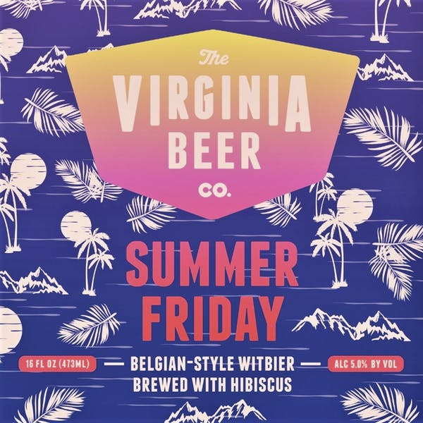 Summer Friday beer artwork