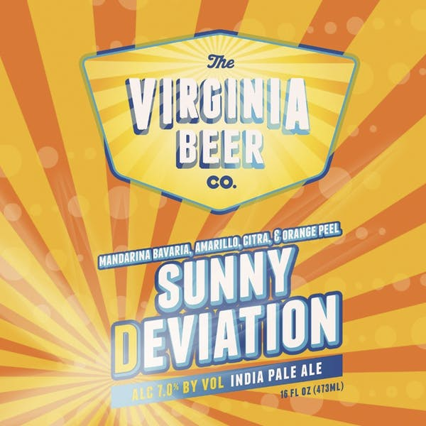 Sunny Deviation beer artwork