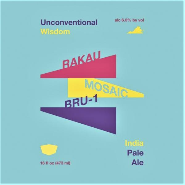 Unconventional Wisdom beer artwork