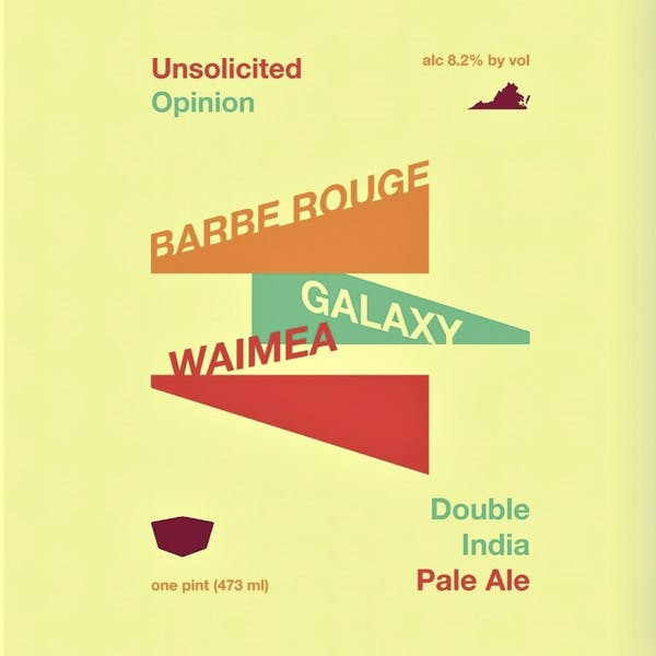 Unsolicited Opinion beer artwork