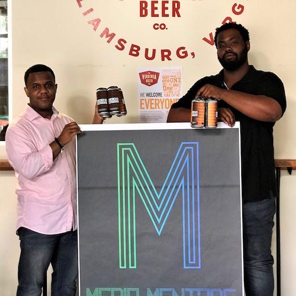 Virginia Beer Co. & Media Mentors Team on Black Is Beautiful Inspired Art Fundraiser
