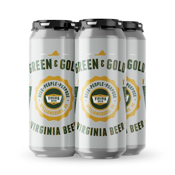 Green & Gold Cans