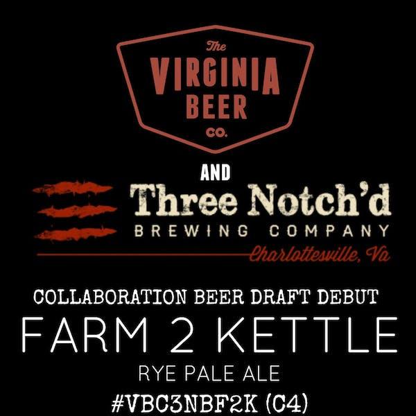Farm 2 Kettle Rye Pale Ale beer artwork