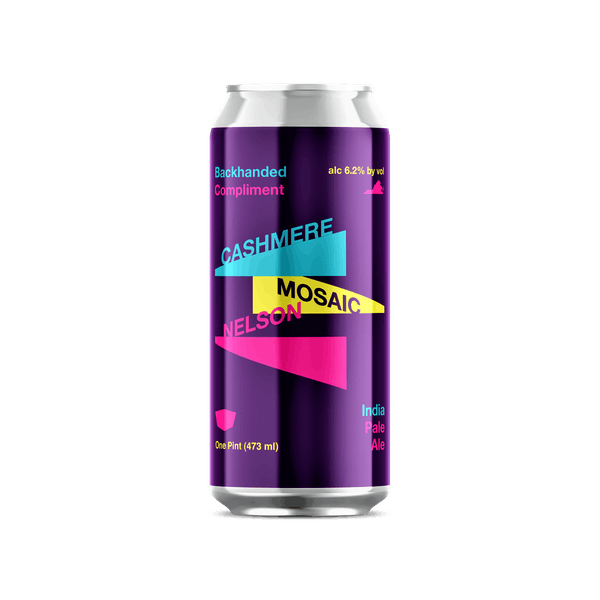 Backhanded Compliment IPA Can