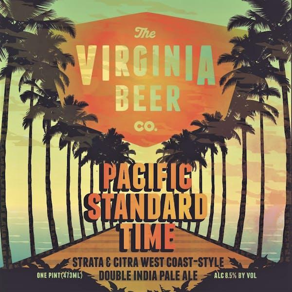 Pacific Standard Time beer artwork