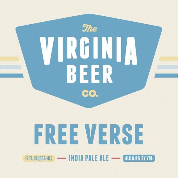 Free Verse beer artwork