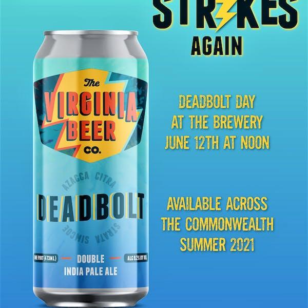 Deadbolt Day Poster