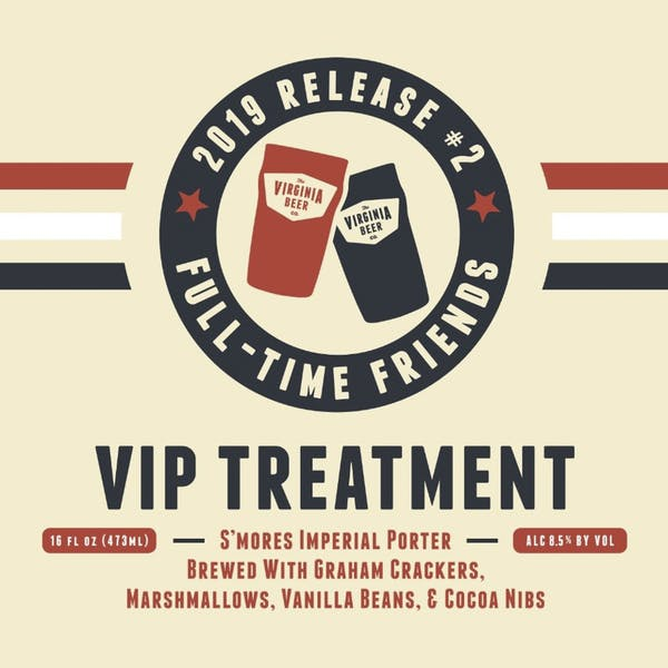 VIP Treatment beer artwork