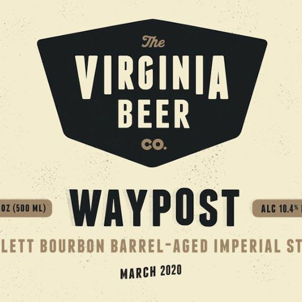 Waypost: Willett Bourbon beer artwork