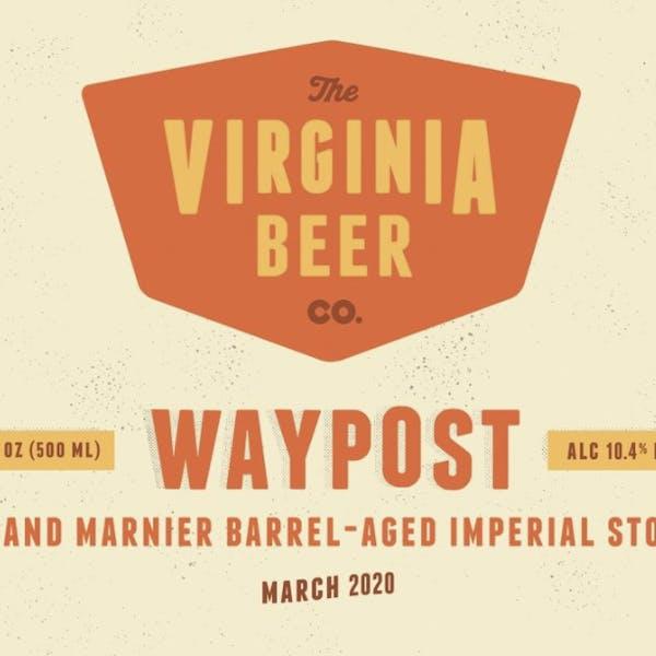 Waypost: Grand Marnier beer artwork