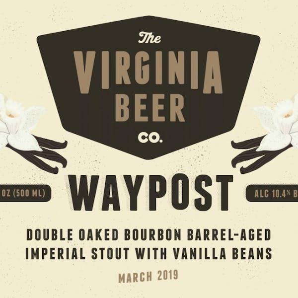 Waypost: Double Oaked Vanilla beer artwork