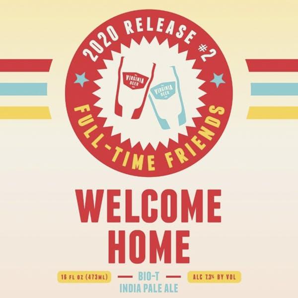Welcome Home beer artwork