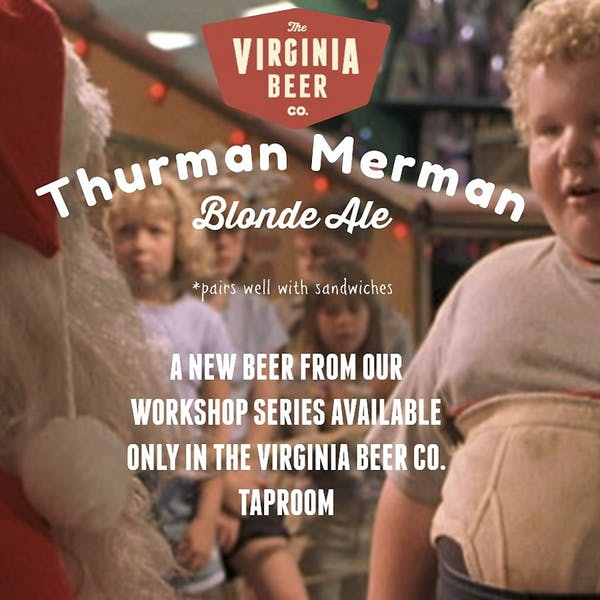 Thurman Merman Blonde Ale beer artwork