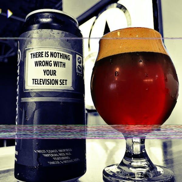 Television Set Pour