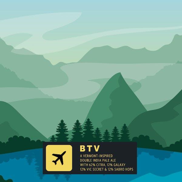 Label for BTV