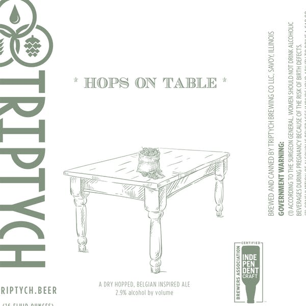Image or graphic for * Hops On Table *