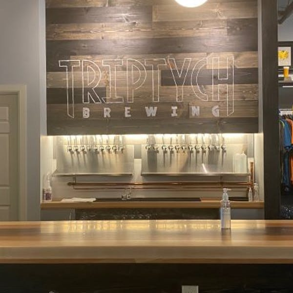 Smile Politely | Triptych's tap room has a new look