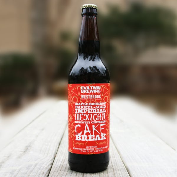 Image or graphic for Maple Bourbon Barrel Aged Imperial Mexican Biscotti Churros Cake Break