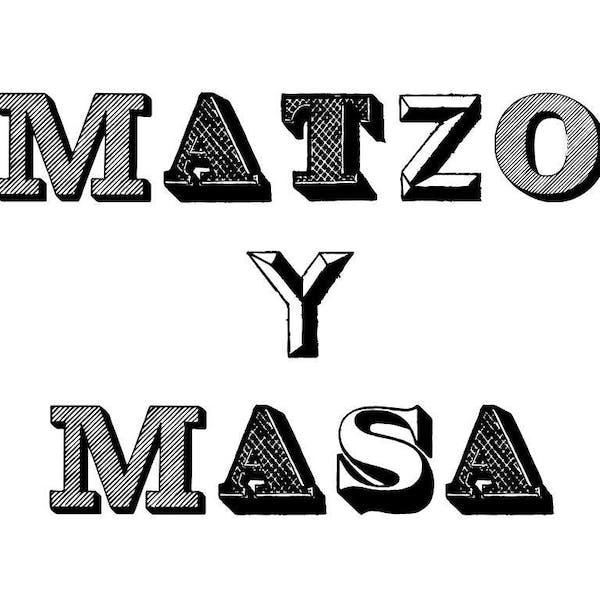 Matzo y Masa Popup