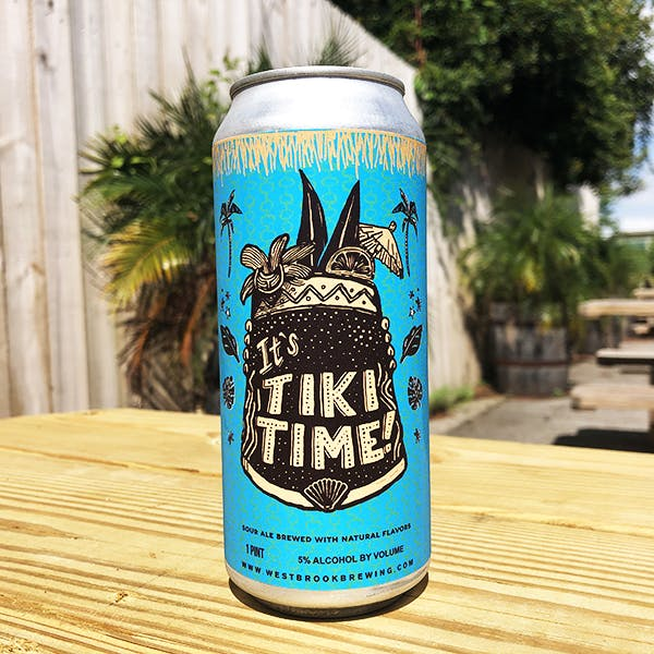 Tiki Time can - web