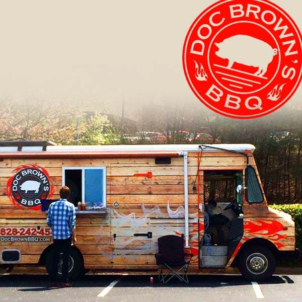 Doc Brown's BBQ Food Truck at Wicked Weed West