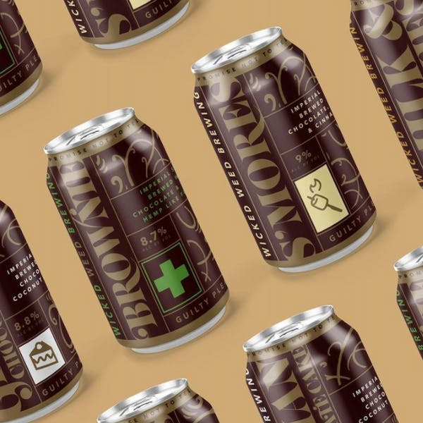 Wicked Weed Brewing's Stout Variety Pack is dessert in a can