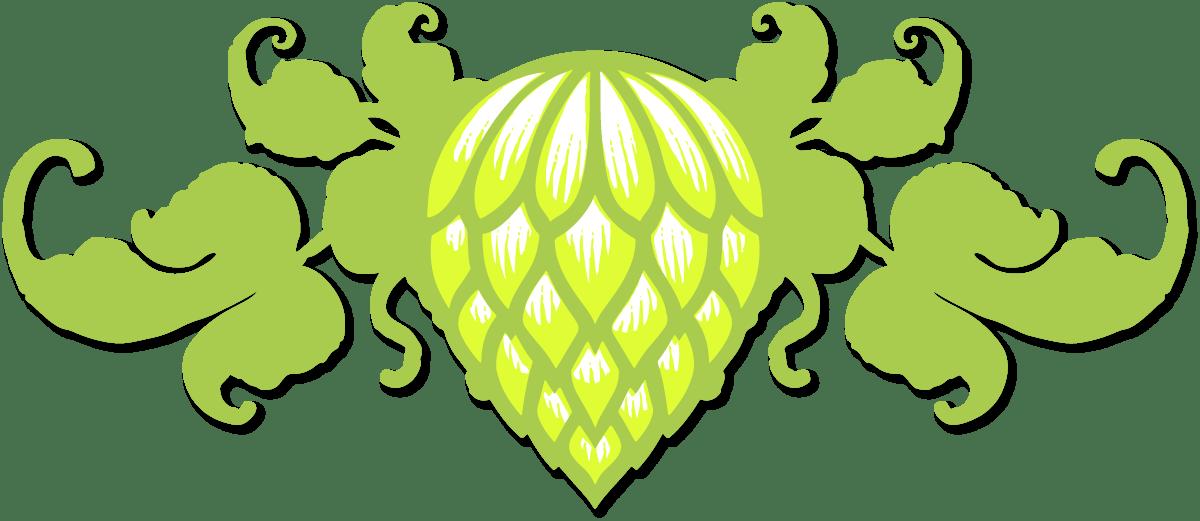 GREEN MAN BREWERY Tennessee Orange Logo STICKER decal craft beer brewing