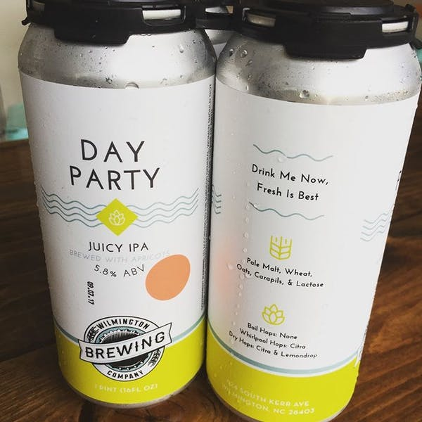 Image or graphic for Day Party Juicy IPA brewed with Apricots