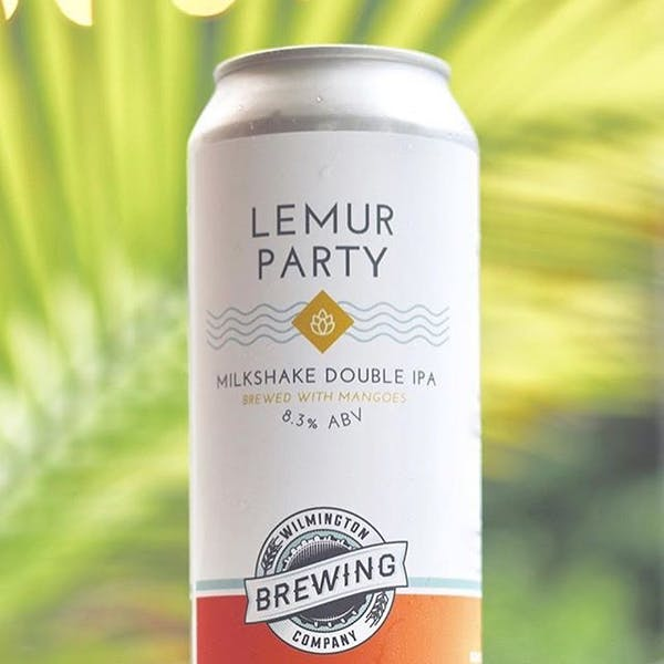 Image or graphic for Lemur Party Milkshake Double IPA brewed with mangoes