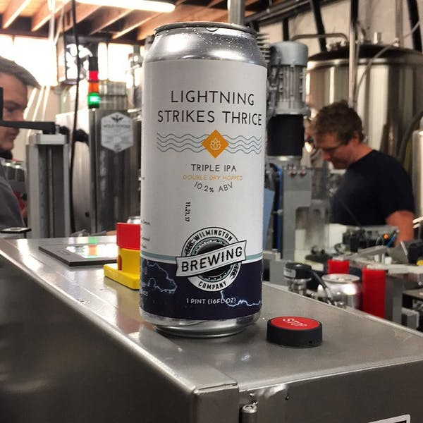 Image or graphic for Lightning Strikes Thrice Triple IPA
