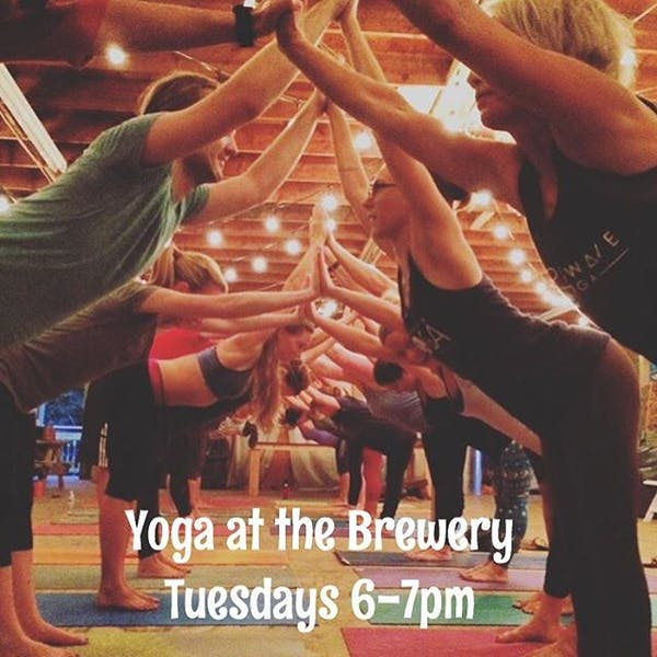 Donation Based Yoga at the Brewery!