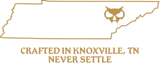 Crafted in Knoxville, TN - Never Settle