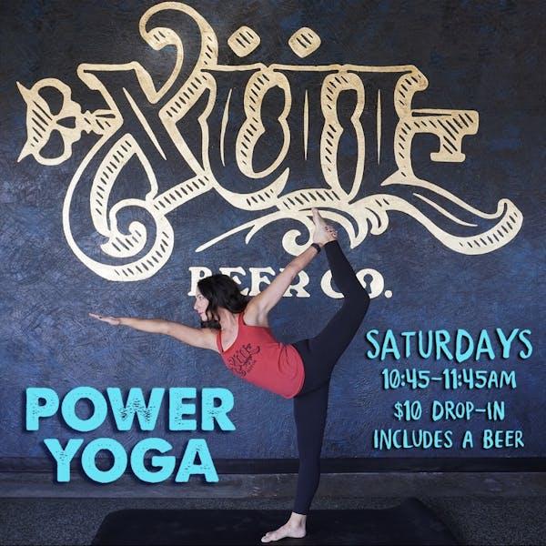 Power Yoga!